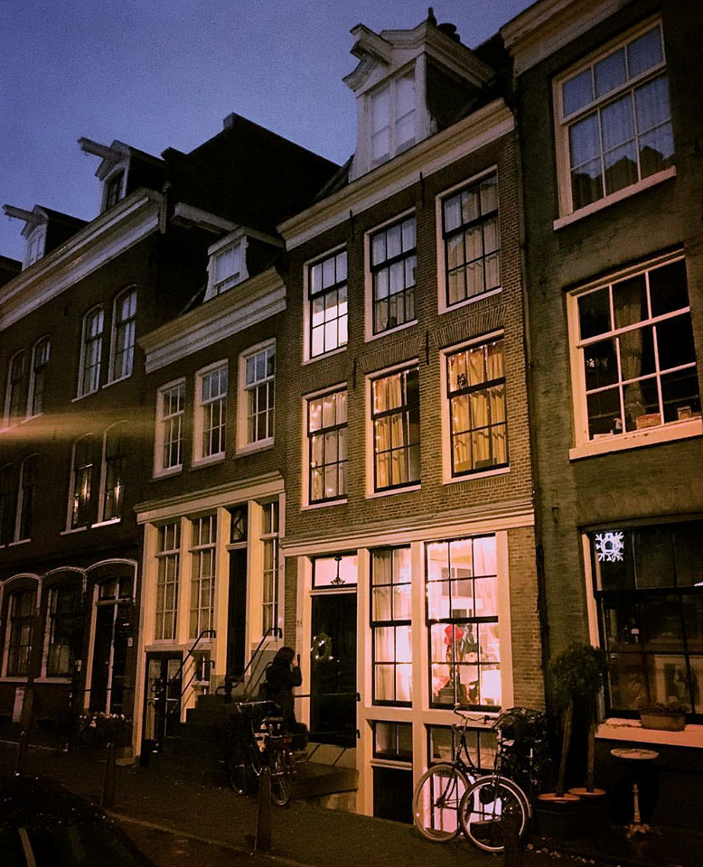 amsterdam finestre illuminate