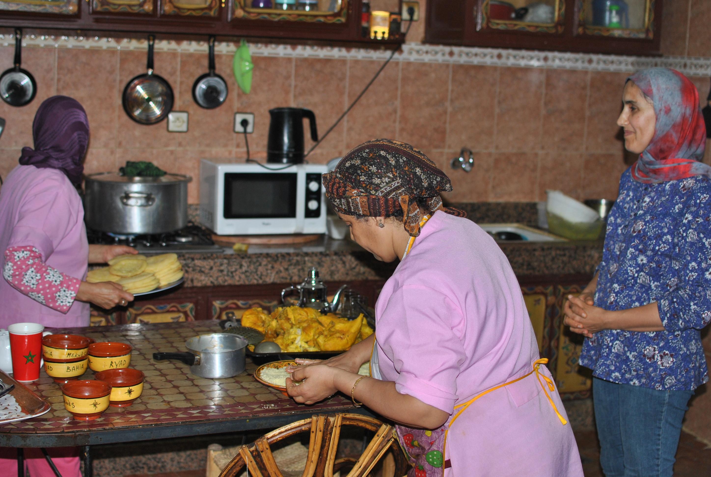 meknes riad marocco cucina