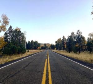 Flagstaff Viaggio usa autunno ottobre