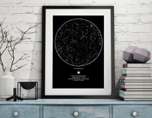 mappa stellare anniversario amore mainagioia