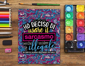 regalo donna album colorare parolacce stress