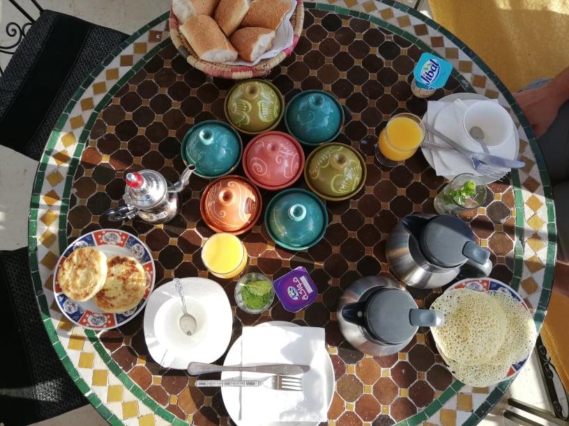 colazione marocco