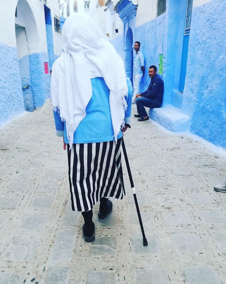 marocco persone chefchouen