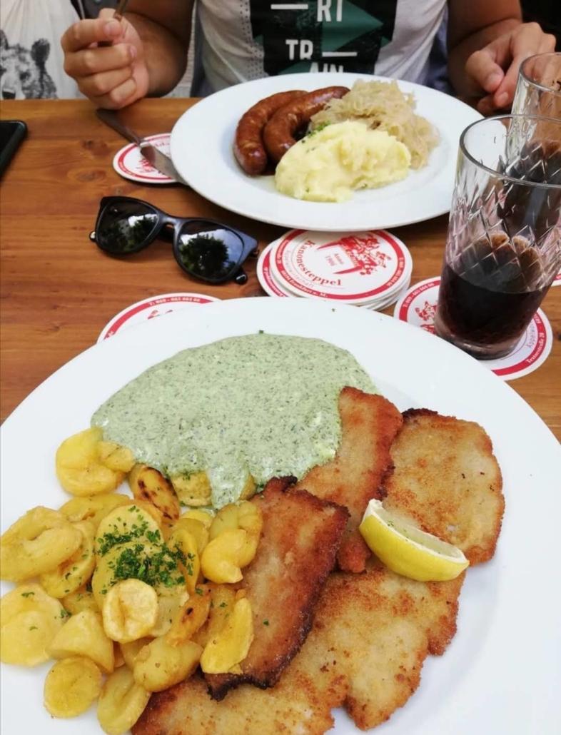 francoforte cibo tipico dove mangiare