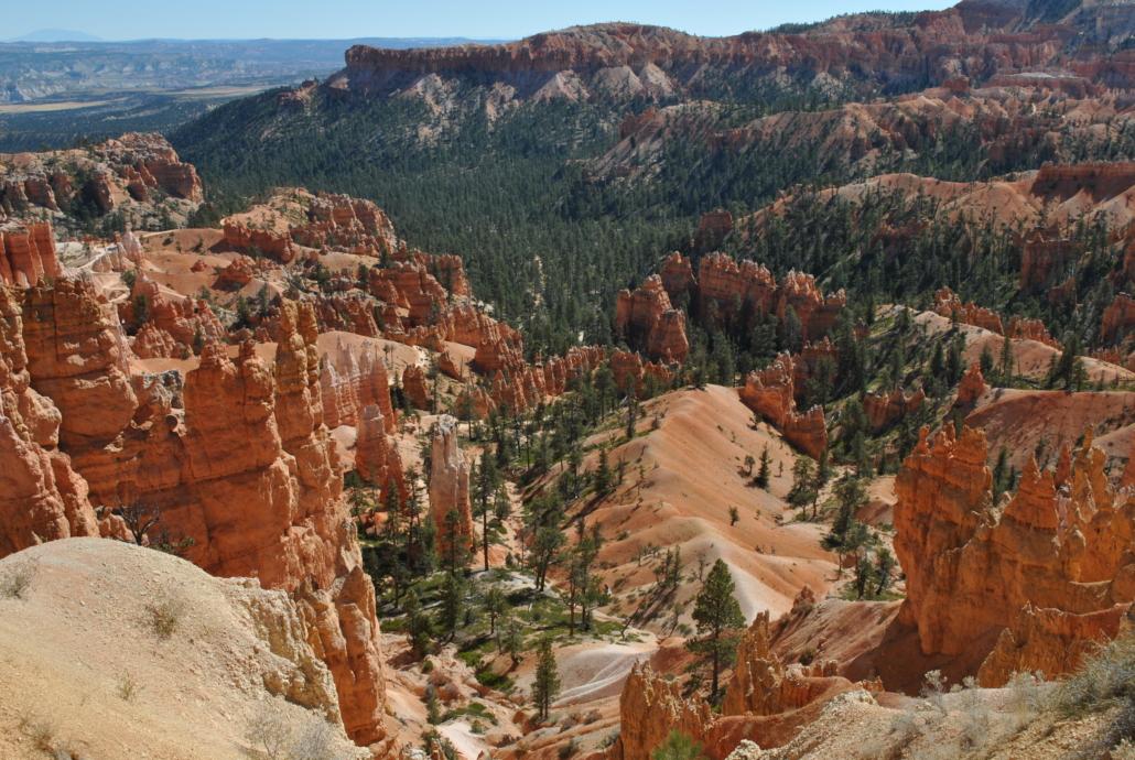 panorama arizona bryce canyon