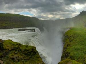Gulfoss cascata Islanda viaggio