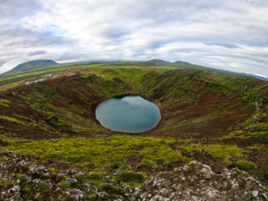 Kerid cratere Islanda