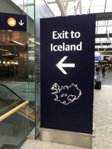 islanda aereoporto viaggio sola